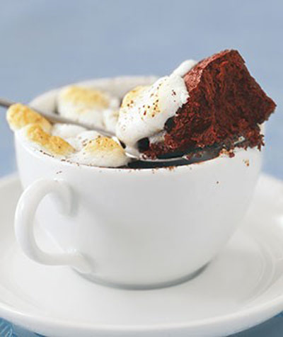 طرز تهیه کیک شکلاتی گرم,طرز پخت کیک شکلاتی