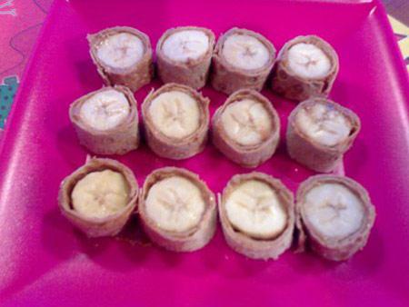 دسر کره بادام زمینی برای کودکان,دسر موز و کره بادام زمینی