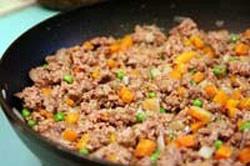 پخت کوکوی گوشت و سبزیجات , طرز پخت کوکوی گوشت
