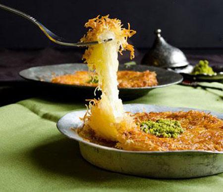 شیرینی ترکیه ای, طرز تهیه کونفه کاداییف