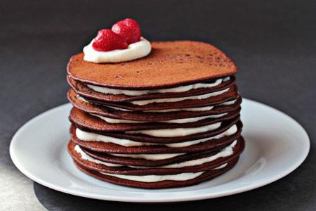 طرز تهیه پنکیک کیک شکلاتی, طرزپخت پنکیک های شکلاتی