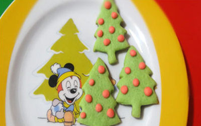 طرز تهیه شیرینی های مخصوص کریسمس, پخت شیرینی کریسمس