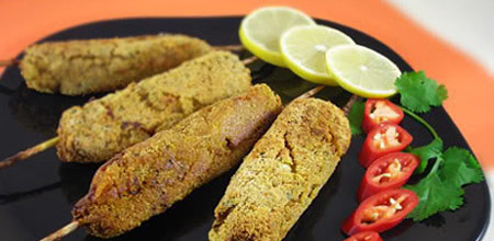 کباب سبزیجات رژیمی,طرز تهیه کباب سبزیجات رژیمی