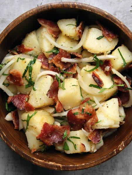 طرز پخت سالاد سیب زمینی, مواد لازم برای سالاد سیب زمینی