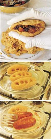 آشپزي: طرز تهیه دست پیچ کرمانشاهی