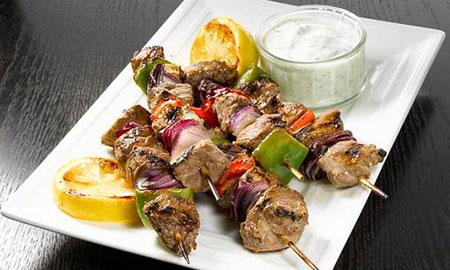 کباب مرغ یونانی,طرز تهیه کباب مرغ یونانی