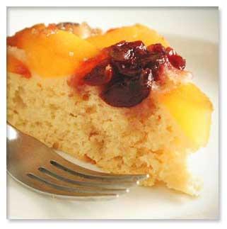 طرز تهیه کیک هلو
