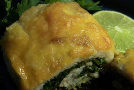 پخت رول ماهی, طرز پخت رول ماهی با سبزیجات