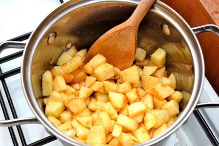 طرز تهیه تارت لقمه ای,تارت سیب و پنیر