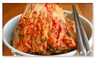 کیم چی غذای کره ای