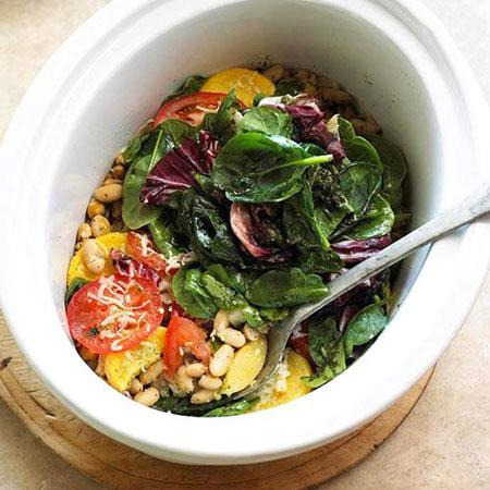طرز تهیه کسرول سبزیجات, نحوه پخت کسرول سبزیجات