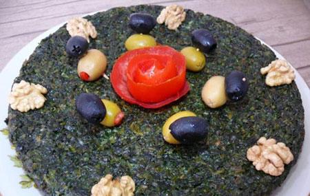 طرز تهیه کوکو سبزی کوهی, مواد لازم برای کوکوی سبزی کوهی