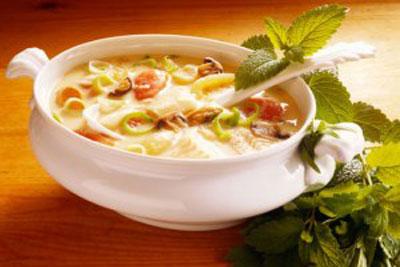 طرز تهیه سوپ های چربی سوز, سوپ رژیمی