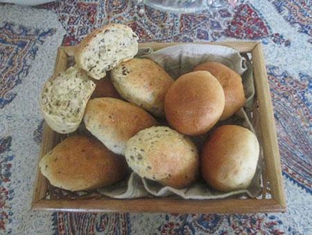 نان مغزدار نروژی, طرز تهیه نان مغزدار نروژی