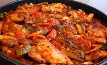 طرز تهیه تاووک (خوراک ترکیه ای)