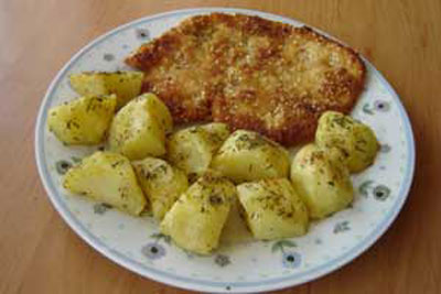 درست کردن کتلت آلمانی,نحوه پخت کتلت آلمانی