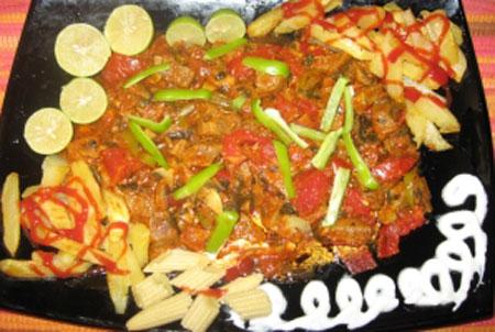 طرز پخت راگوی سبزیجات,تهیه راگوی سبزیجات