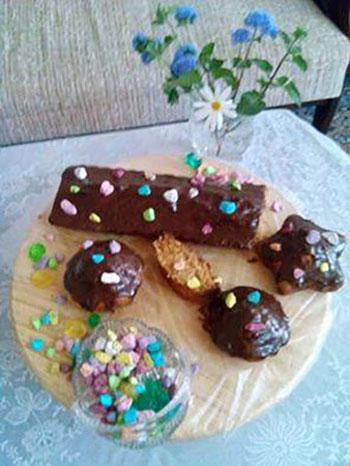 طرز تهیه کیک هویج,کیک هویج با رویه گاناش