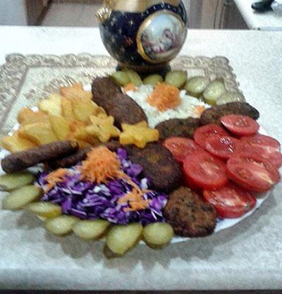 طرز تهیه کتلت با سبزیجات,پخت کتلت با سبزیجات