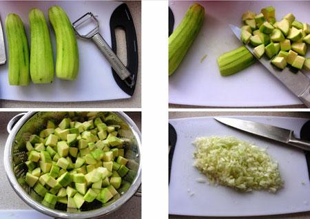 پخت خوراک کدو,نحوه پخت خوراک کدو