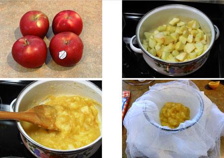 طرز تهیه سس سیب,طرز تهیه پوره سیب