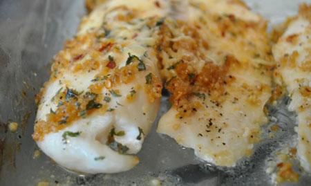 طرز تهیه ماهی تیلاپیا, ماهی تیلاپیا با سیر و لیمو