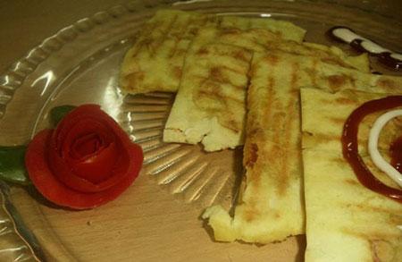 تهیه نان تاکو,پخت نان تاکو