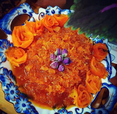 طرزتهیه مربای هویج,طرز تهیه ی مربای هویج