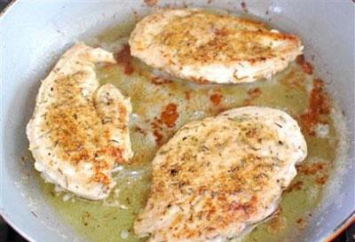 مرغ سرخ شده با لیمو عمانی,پخت مرغ سرخ شده با لیمو عمانی