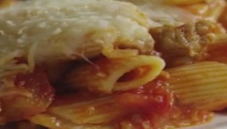 طرز تهیه پنه با سس ایتالیایی