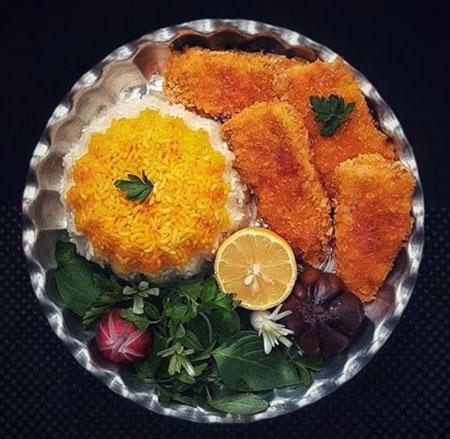 طرز تهیه ماهی قزل آلا,سوخاری کردن ماهی قزل الا