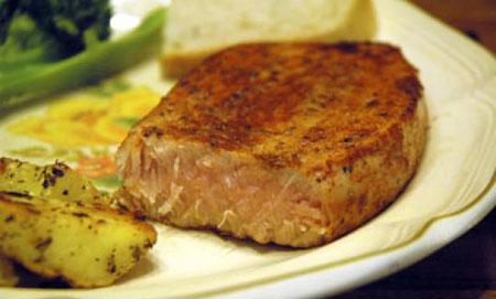 طرز تهیه استیک ماهی تن,نحوه پخت استیک ماهی تن