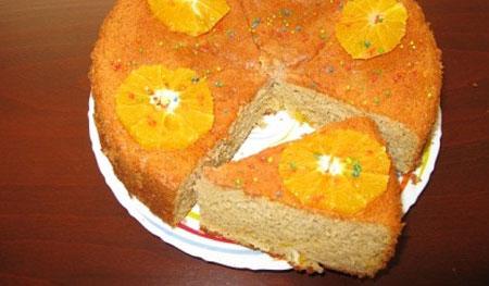 کیک بهارنارنج و پرتقال,طرز تهیه کیک بهارنارنج و پرتقال