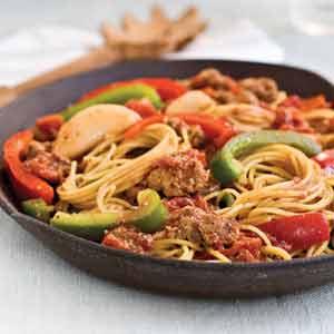 طرز تهیه اسپاگتی به روش مکزیکی