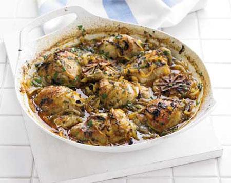 مرغ اسپانیایی,طرز تهیه مرغ اسپانیایی
