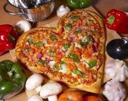 طرز تهیه پیتزا قلب