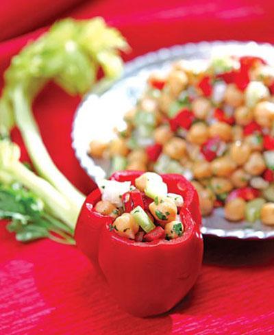 درست کردن دلمه نخود و سبزیجات,مواد لازم برای دلمه نخود و سبزیجات