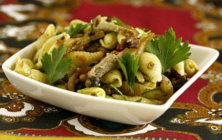 طرز تهیه سالاد ماکارونی آسیایی, سالاد ماکارونی آسیایی