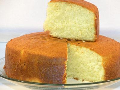 کیک اسفنجی ساده,طرز تهیه کیک اسفنجی ساده