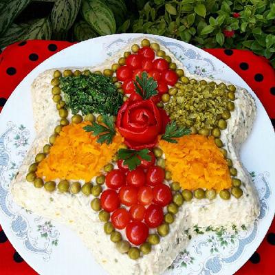 سالاد الویه با مرغ,طرز پخت سالاد الویه