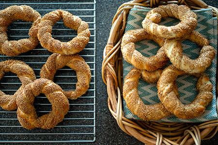 نان سیمیت ترکیه ای,طرز تهیه نان سیمیت ترکیه ای