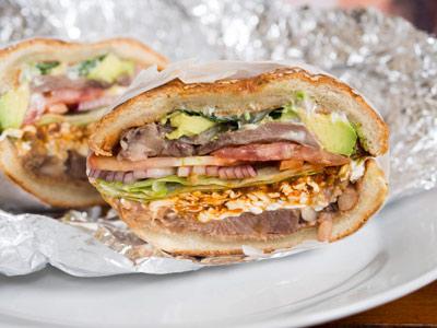 طرز تهیه ساندویچ زبان مکزیکی