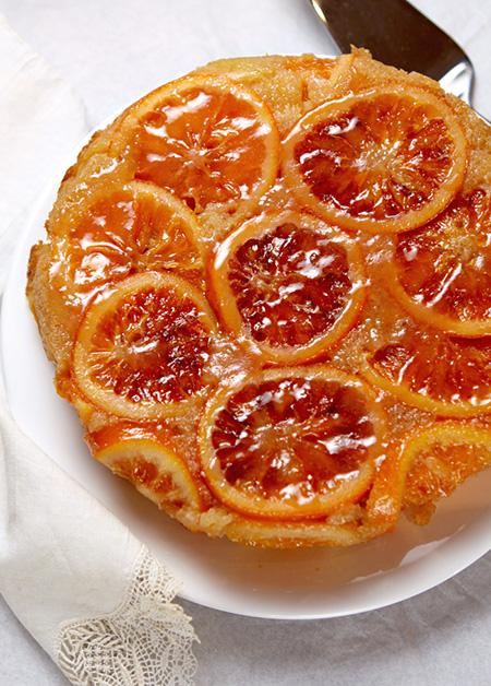طرزتهیه کیک پرتقالی