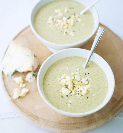 سوپ گل کلم و شاه بلوط