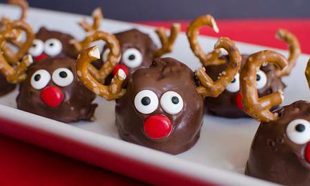 طرز تهیه شیرینی گوزنی, شیرینی گوزنی برای کریسمس