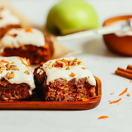 طرز تهیه کیک های میوه ای, پخت کاپ کیک با هویج