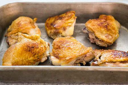 پخت مرغ سوخاری با سس قارچ, طرز تهیه مرغ سوخاری با سس قارچ
