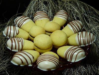 شیرینی انگشتی بادامی,طرز تهیه شیرینی انگشتی بادامی