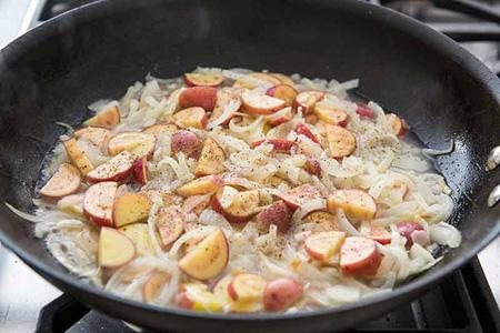 نحوه درست کردن میگو و مارچوبه سوخاری, طرز تهیه میگو و مارچوبه سوخاری