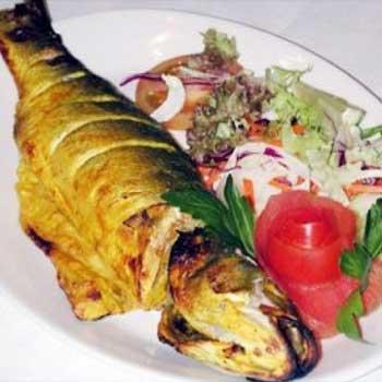 غذا با ماهی